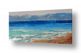 ציורים מים | הים התיכון