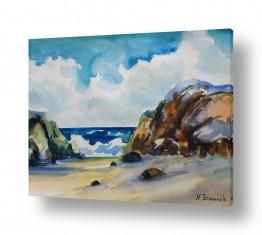 ציורים מים | ליד הים