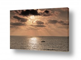 כלי שייט אוניה | sunset