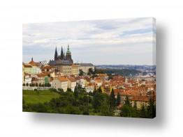 בתים גגות | Prague Castle