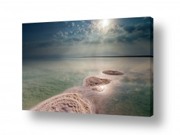 צילומים טבע | זריחה בים המלח