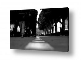 צילומים שחור לבן | רחוב מרכזי