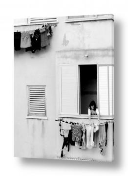 צילומים אבנר ירון | נתניה בחורף 1