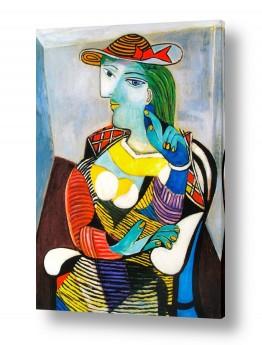 אמנים מפורסמים פאבלו פיקאסו | Marie Therese Walter