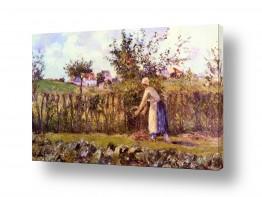 אמנים מפורסמים קאמי פיסארו | Pissarro Camille 001