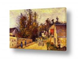 אמנים מפורסמים קאמי פיסארו | Pissarro Camille 003