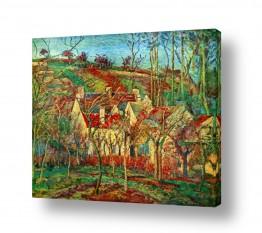 אמנים מפורסמים קאמי פיסארו | Pissarro Camille 016