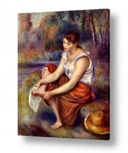 אמנים מפורסמים פייר רנואר | Renoir Pierre 026