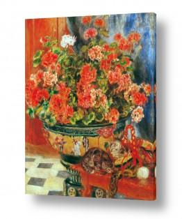 טבע דומם סלסלת פירות | Renoir Pierre 004