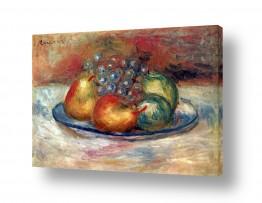 טבע דומם סלסלת פירות | Renoir Pierre 005