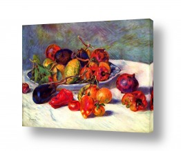 טבע דומם סלסלת פירות | Renoir Pierre 009