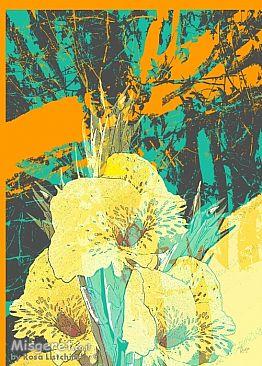 פרח צהוב 2