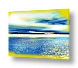 ציורים קולאג'ים | ים צהוב