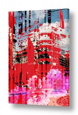 ציורים רוזה לשצ'ינסקי | פינת רחוב 1