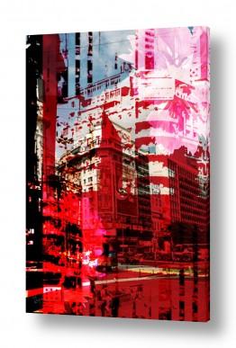 ציורים אמנות דיגיטלית | פינת רחוב 2