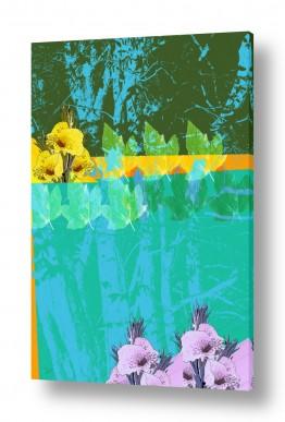 תמונות למשרד | עלים ופרחים