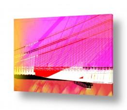 תמונות למשרד | גשר ורוד