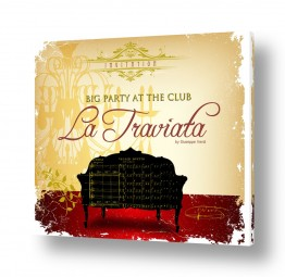 ציורים רטרו | La Traviata