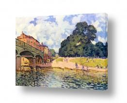 אמנים מפורסמים אלפרד סיסלי | Alfred Sisley 004