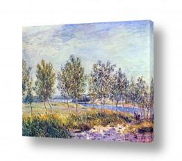 אמנים מפורסמים אלפרד סיסלי | Alfred Sisley 006