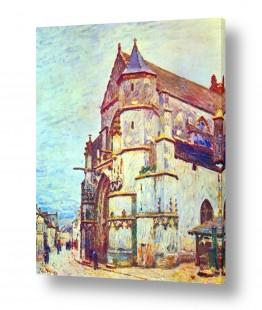 אמנים מפורסמים אלפרד סיסלי | Alfred Sisley 008