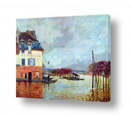 אמנים מפורסמים אלפרד סיסלי | Alfred Sisley 009