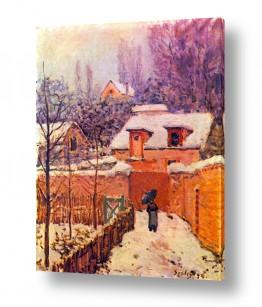 אמנים מפורסמים אלפרד סיסלי | Alfred Sisley 010