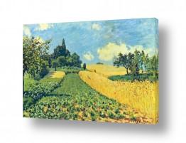 אמנים מפורסמים אלפרד סיסלי | Alfred Sisley 011