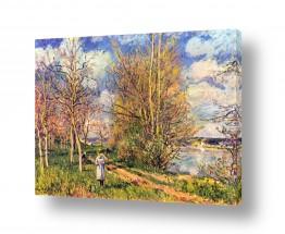 אמנים מפורסמים אלפרד סיסלי | Alfred Sisley 014