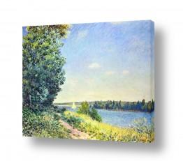 אמנים מפורסמים אלפרד סיסלי | Alfred Sisley 016