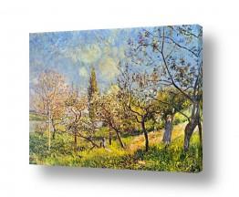 אמנים מפורסמים אלפרד סיסלי | Alfred Sisley 017
