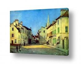 אמנים מפורסמים אלפרד סיסלי | Alfred Sisley 018