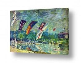 אמנים מפורסמים אלפרד סיסלי | Alfred Sisley 019