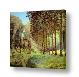 אמנים מפורסמים אלפרד סיסלי | Alfred Sisley 020
