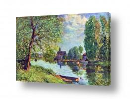 אמנים מפורסמים אלפרד סיסלי | Alfred Sisley 021