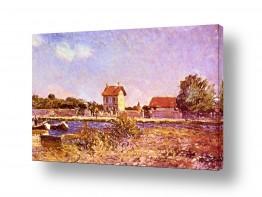 אמנים מפורסמים אלפרד סיסלי | Alfred Sisley 022