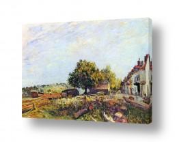 אמנים מפורסמים אלפרד סיסלי | Alfred Sisley 023