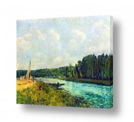 אמנים מפורסמים אלפרד סיסלי | Alfred Sisley 024