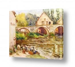 אמנים מפורסמים אלפרד סיסלי | Alfred Sisley 025