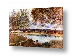 אמנים מפורסמים אלפרד סיסלי | Alfred Sisley 028