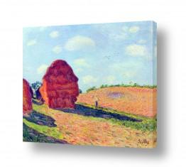 אמנים מפורסמים אלפרד סיסלי | Alfred Sisley 029