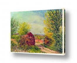 אמנים מפורסמים אלפרד סיסלי | Alfred Sisley 030