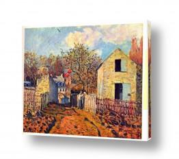 אמנים מפורסמים אלפרד סיסלי | Alfred Sisley 031