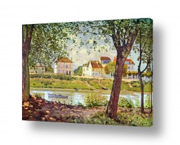 אמנים מפורסמים אלפרד סיסלי | Alfred Sisley 032