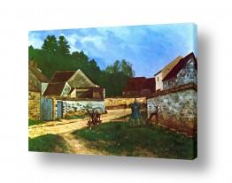 אמנים מפורסמים אלפרד סיסלי | Alfred Sisley 033