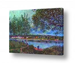 אמנים מפורסמים אלפרד סיסלי | Alfred Sisley 035
