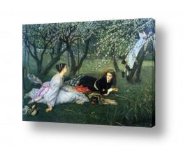 אמנים מפורסמים ג'יימס טיסו | James Tissot 031
