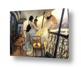 אמנים מפורסמים ג'יימס טיסו | James Tissot 040