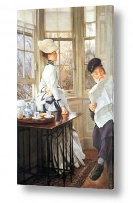 אמנים מפורסמים ג'יימס טיסו | James Tissot 043