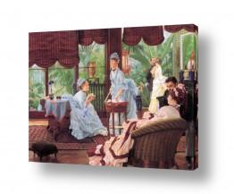 אמנים מפורסמים ג'יימס טיסו | James Tissot 055